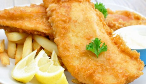 The Captains Table, Ryde – Freshly-Battered Fish and Chips to Eat-In or Takeaway – normally £7.95 deal price £3.95