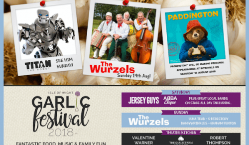 Enjoy Family Fun at The Garlic Festival this Weekend – Promotional Feature