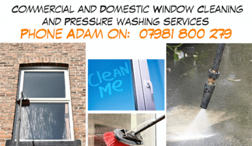 Window Cleaning with a Difference at I.C.Clearly Cleaning Services – Promotional Feature