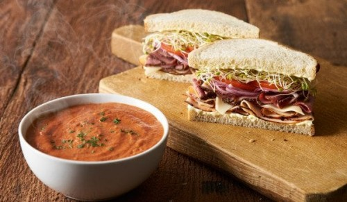 Appley Beach Cafe, Ryde – Homemade Soup and Sandwich with Choice of Filling for Two – normally up to £18.50 deal price £11.95