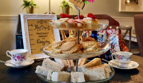 Wood's Kitchen, Godshill – Practically Afternoon Tea for Two with Prosecco – normally up to £48.00 deal price £24.00