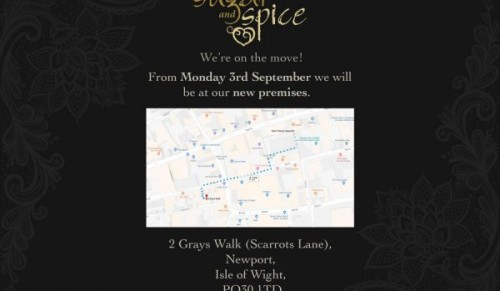 Sugar and Spice have moved – Promotional Feature