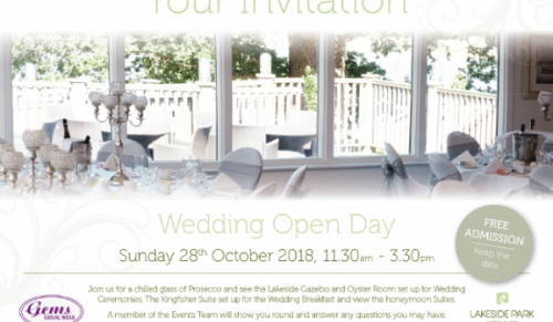 You are invited to a Wedding Open Day at Lakeside Park Hotel, Wootton Bridge – Promotional Feature