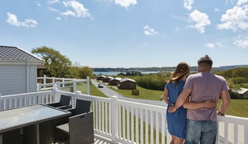 Escape to your own luxury lodge at Nodes Point Holiday Park – Promotional Feature