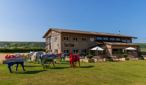 The Cow Restaurant and Bar, Tapnell Farm Park – Any Main Course Dish or Handmade Burger from Standard Menu – normally up to £14.00 deal price £8.00