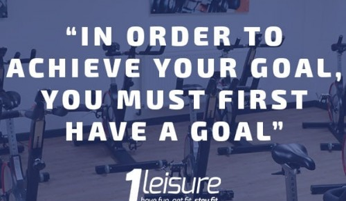 At 1Leisure we are here to help you achieve your fitness goal – Promotional Feature