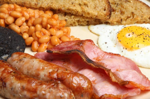 The Captains Table, Ryde – Full English, Vegan or Skinny/Gluten Free Breakfast for Two or Three People – normally up to £14.85 deal price from £6.95