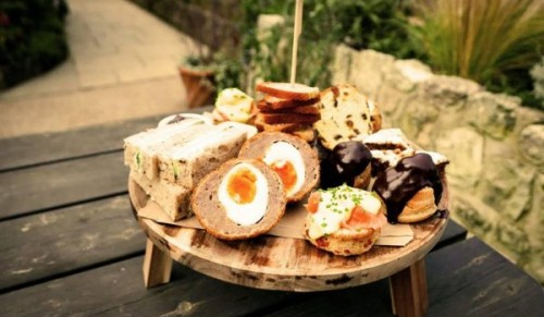 The Garlic Farm, Newchurch – Exclusive The Garlic Farm Rustic Afternoon Tea for Two – normally £40.00 deal price £32.00