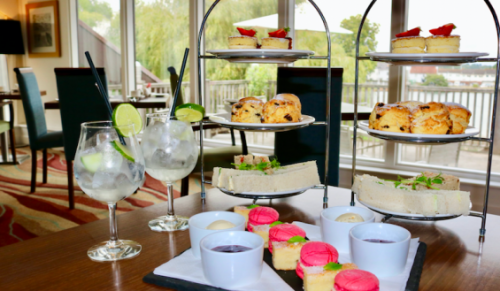 Lakeside Park Hotel and Spa, Wootton Bridge – Exclusive Gin-dulgence Afternoon Tea for Two with or without Spa Pass – normally up to £80.00 deal price from £35.90