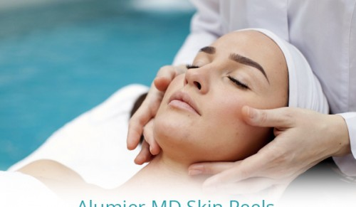 The Lodge Aesthetics Clinic, Freshwater – Three Bespoke AlumierMD Chemical Peels Course – normally £285.00 deal price £190.00
