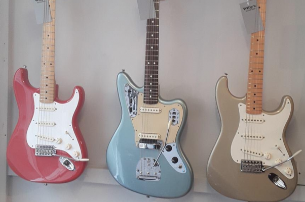Quality Guitars and Lessons at Willy's Guitar Shop, Cowes